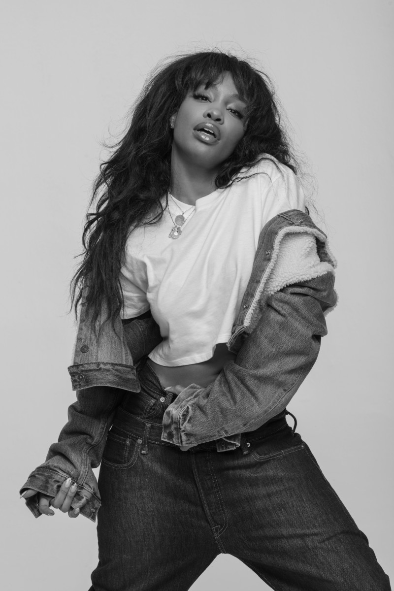 SZA for Levi's x Karla. Photo: Levi's