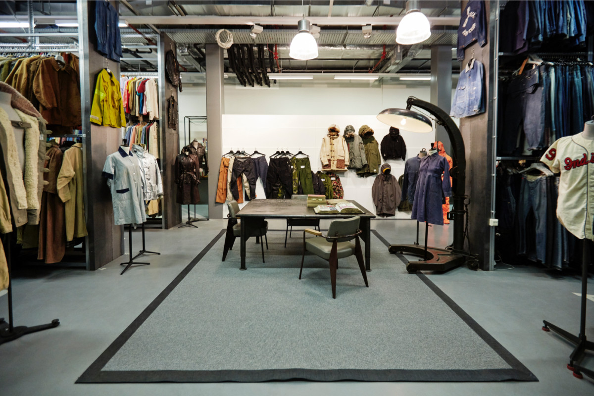 A look inside a corner of G-Star Raw's Amsterdam archive. Photo: Courtesy of G-Star Raw