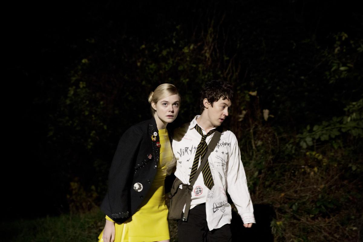 Zan (Elle Fanning) and Enn. Photo: Dean Rogers, courtesy of A24