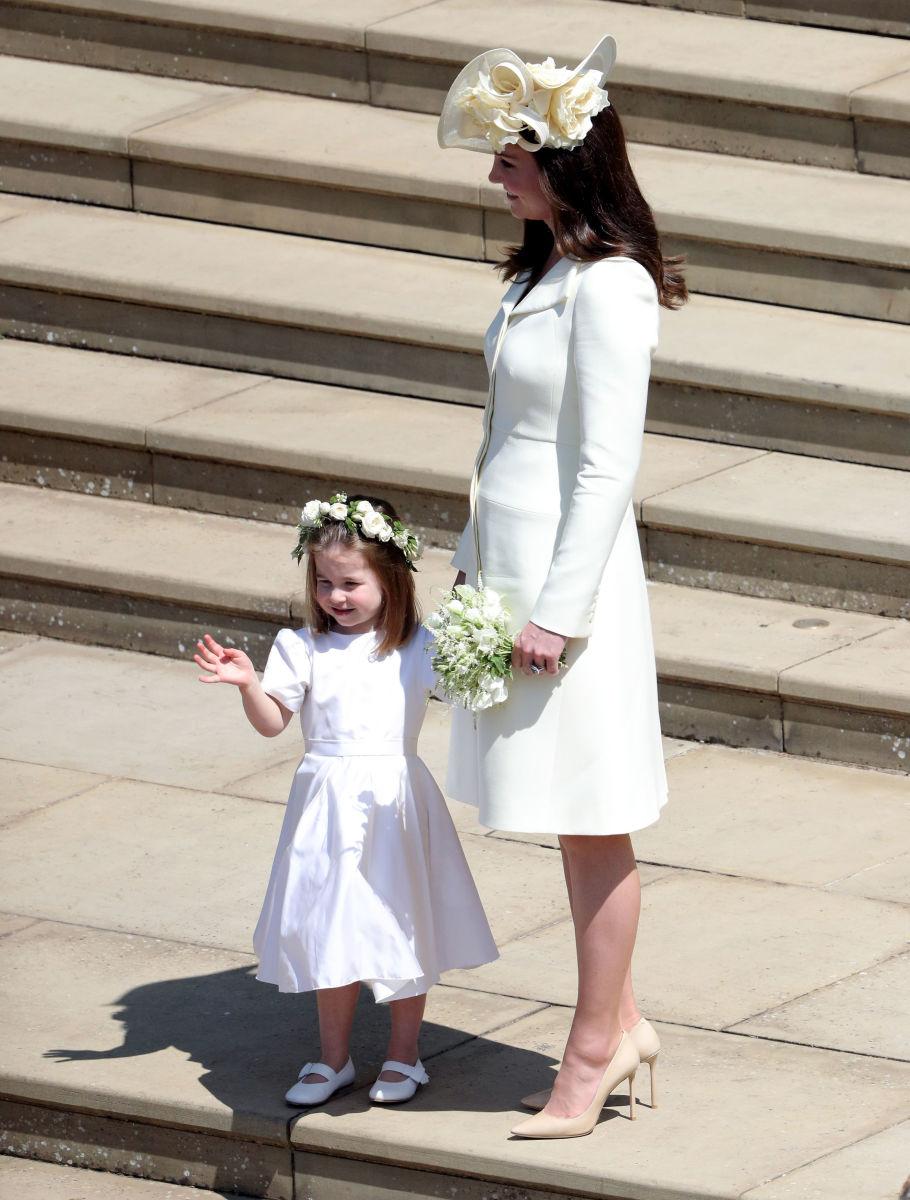 kate middleton in harry wedding