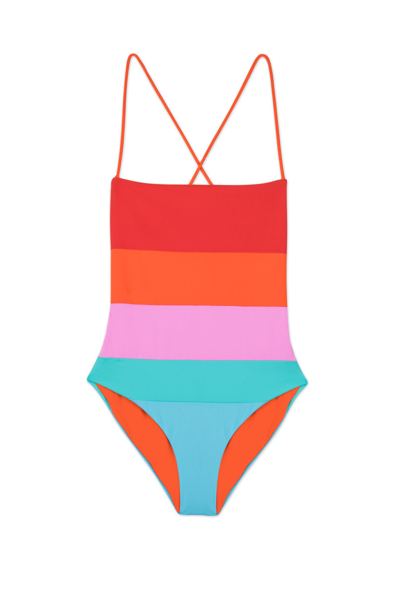 Olympia one-piece, $325, available at Mara Hoffman