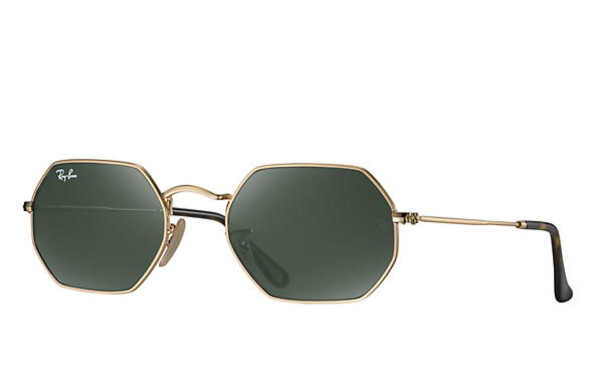 Ray-Ban octagonal flat lenses, $153, available at Ray-Ban.