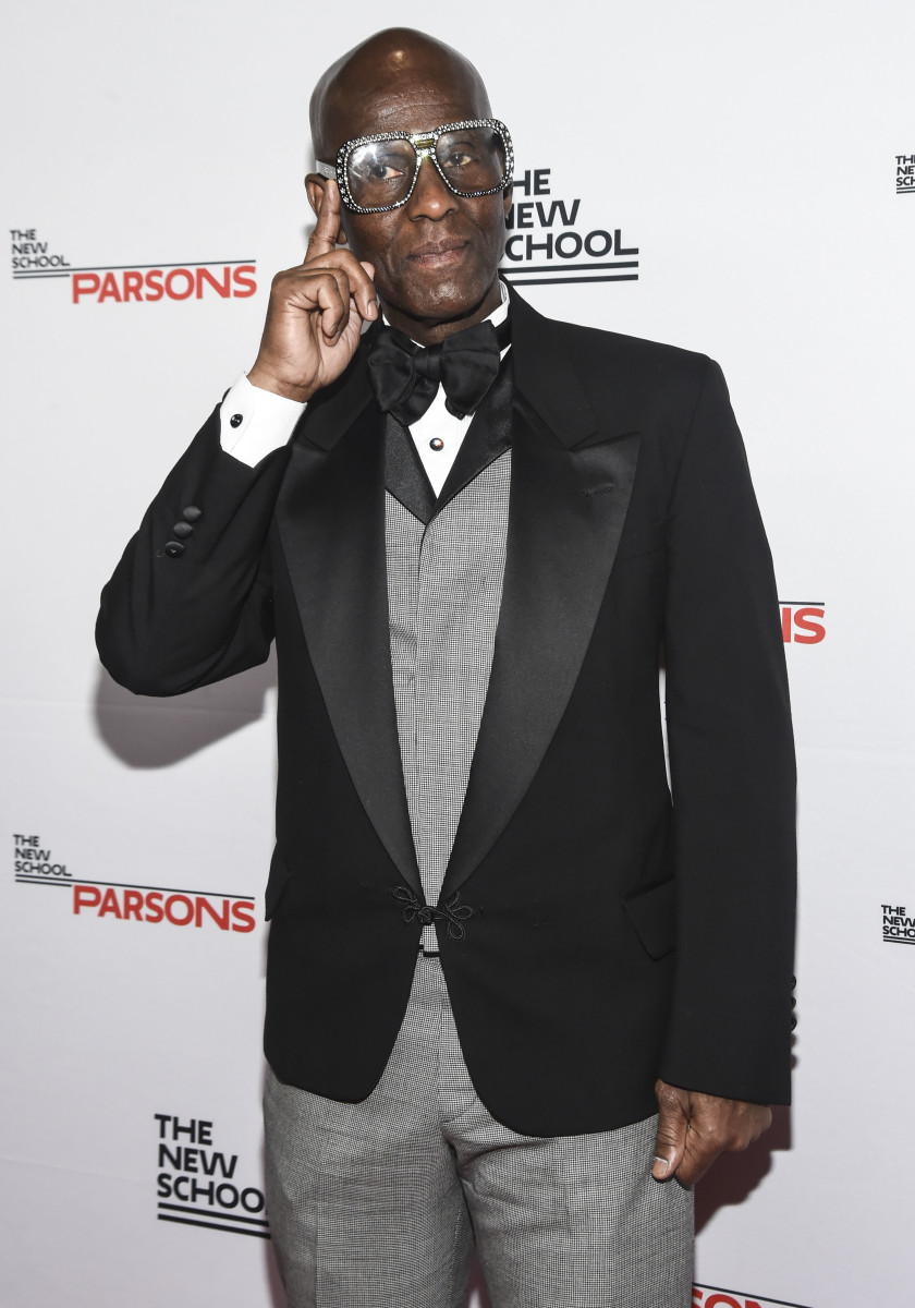 Dapper Dan at the 70th Annual Parsons Benefit. Photo: Daniel Zuchnik/WireImage