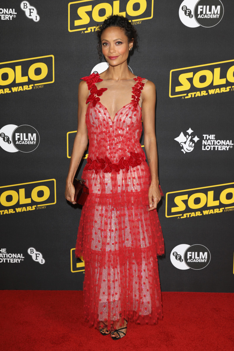 "Thandie Newton at the screening of ""Solo: A Star Wars Story"" in London. Photo: Tim P. Whitby/Getty Images for Disney"
