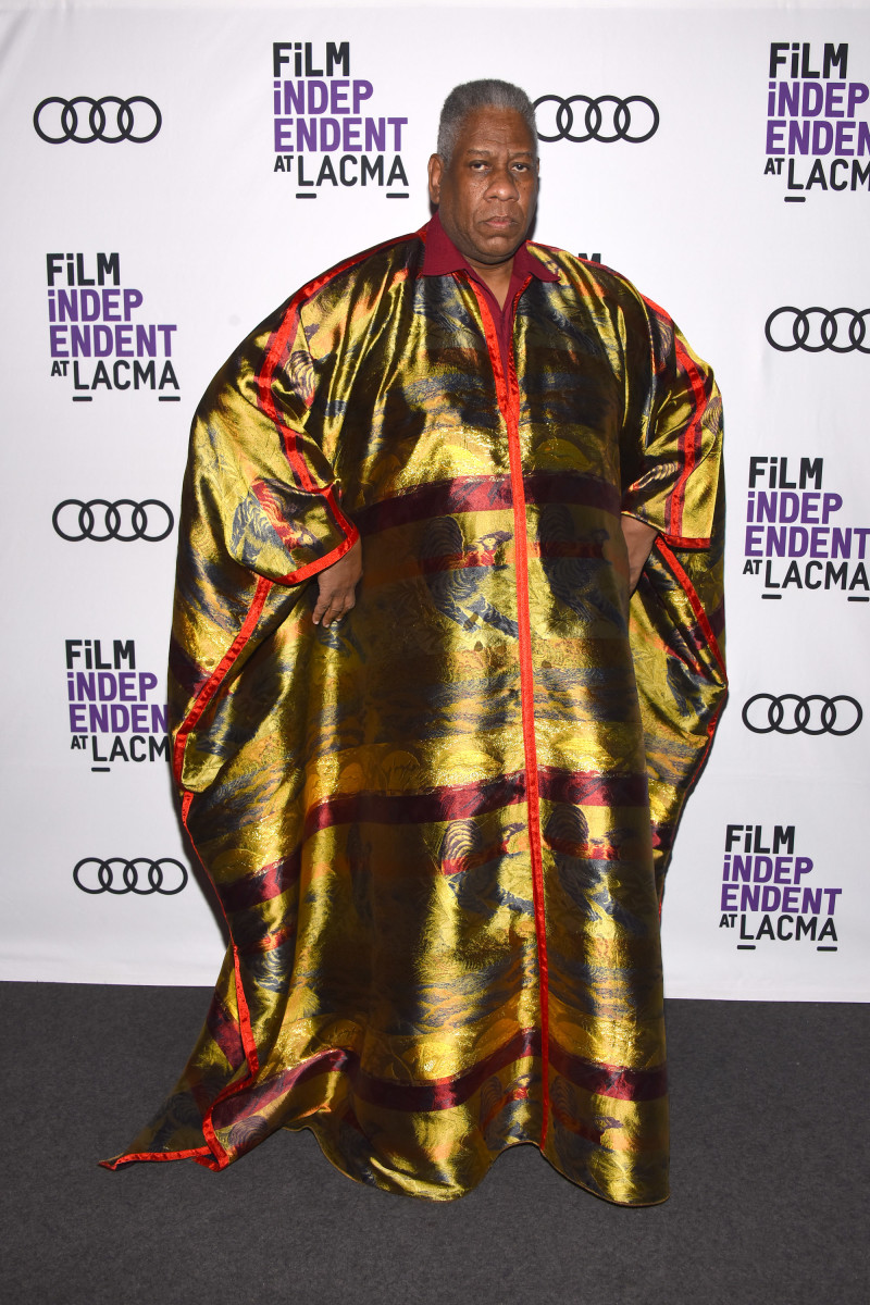 """Andre Leon Talley at a screening of """"Gospel According To Andre."""" Photo: Araya Diaz/Getty Images"""