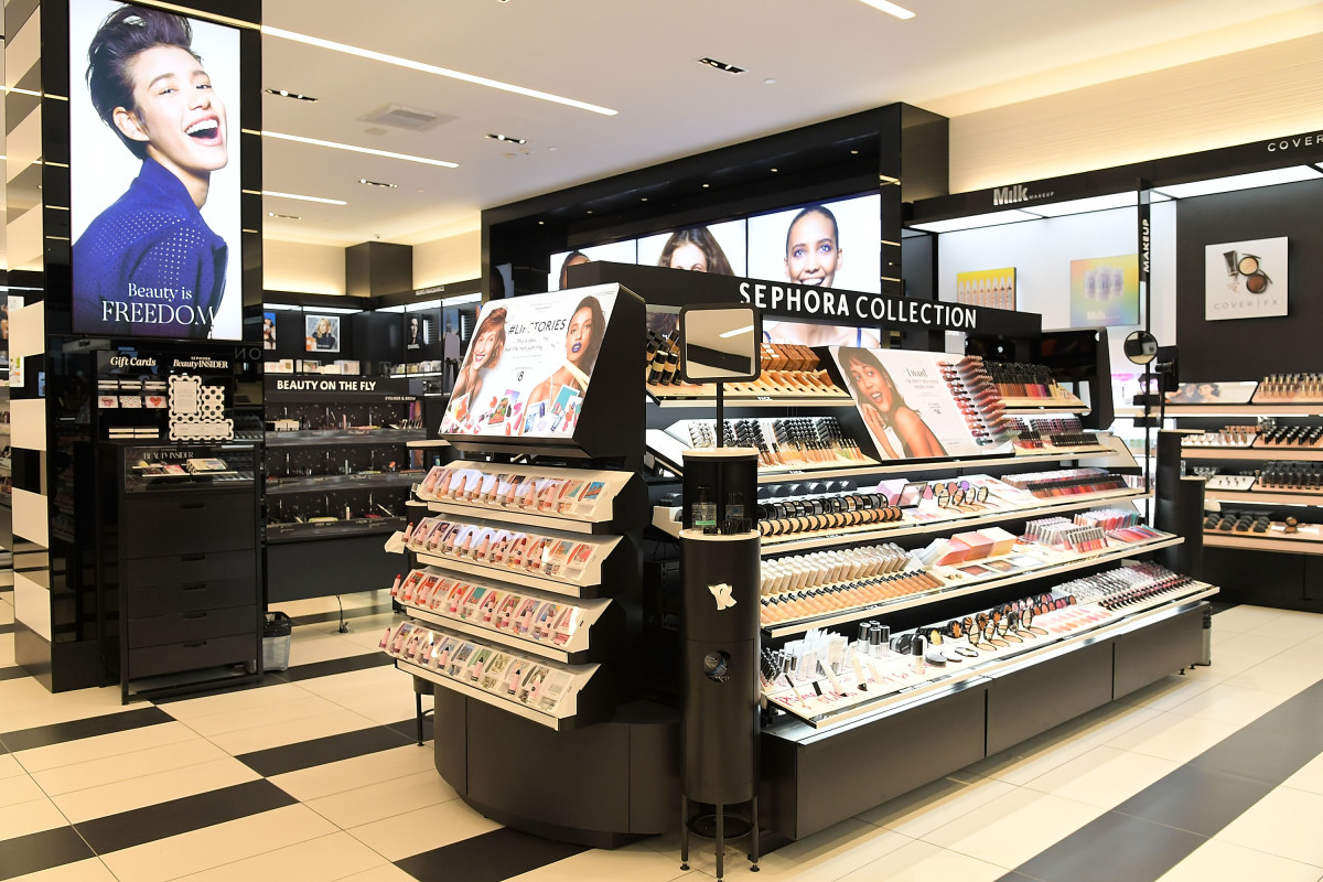 Inside a Sephora store. Photo: Charley Gallay/Getty Images for Sephora