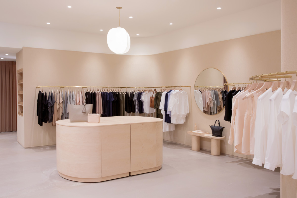 The new Cuyana store in New York City. Photo: Courtesy of Cuyana