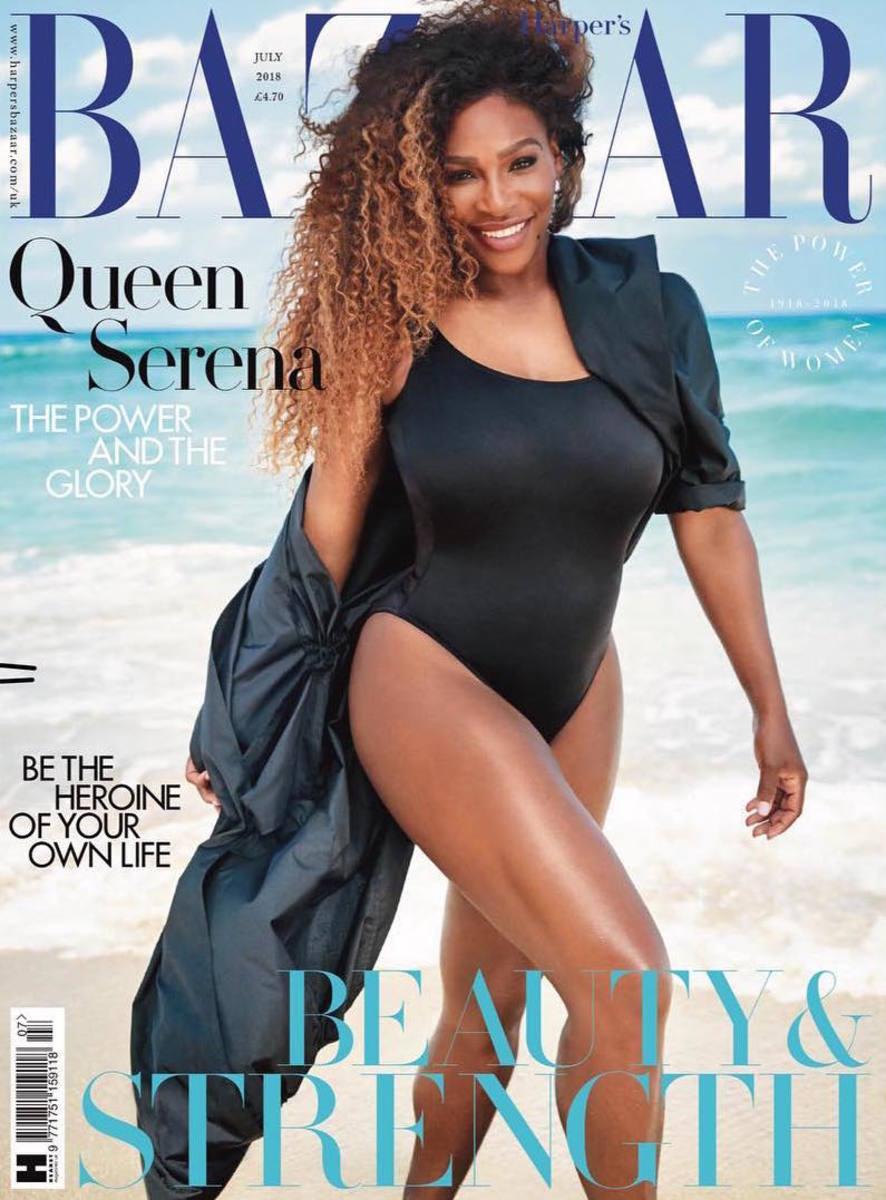 2e8e3f854a Must Read: Serena Williams Covers 'Harper's Bazaar UK,' Layoffs Hit ...