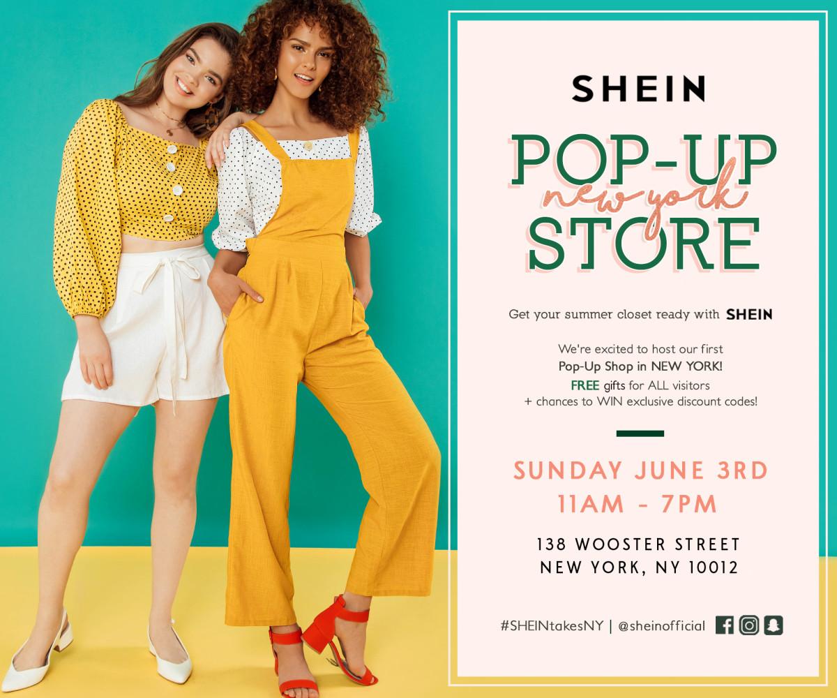 387914e04a Don't Miss SHEIN's One Day Pop-Up on June 3rd - NYC - Fashionista