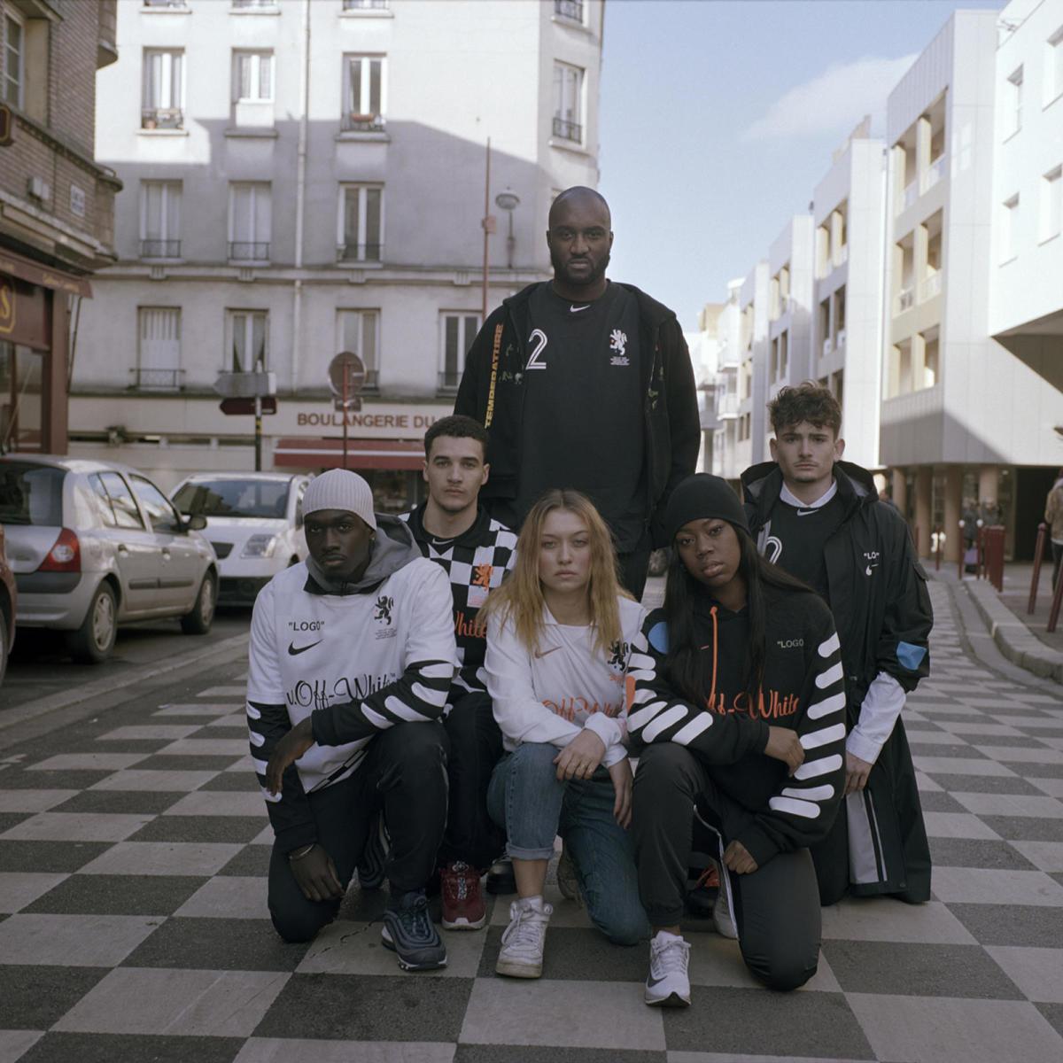 "Nike x Off-White ""Football, Mon Amour"" collection. Photo: Courtesy"