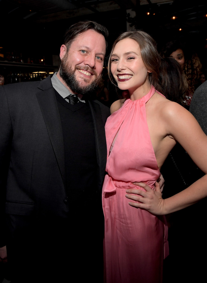 Mark Townsend and Elizabeth Olsen. Photo: Charley Gallay/Getty Images for Marie Claire