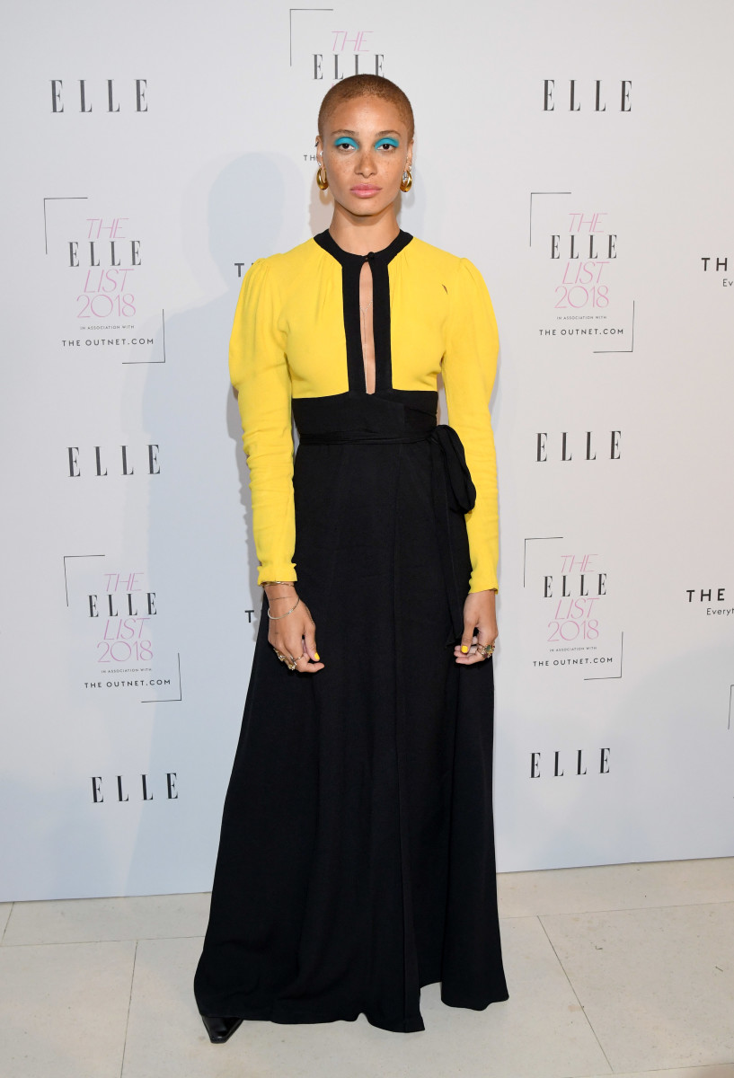 "Adwoa Aboah attends The ""Elle"" List 2018 in London. Photo: Karwai Tang/WireImage"
