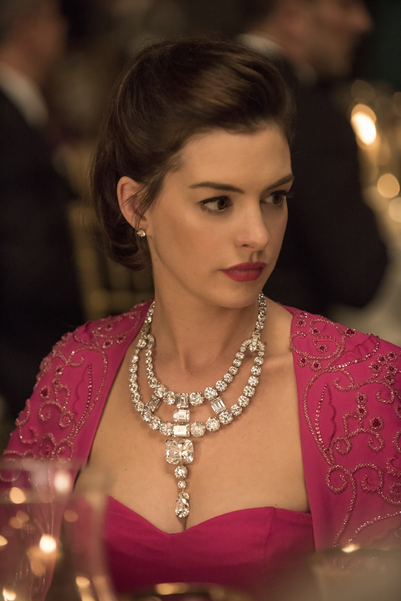 "Anne Hathaway as Daphne Kluger in ""Ocean's 8."" Photo: David Lee"