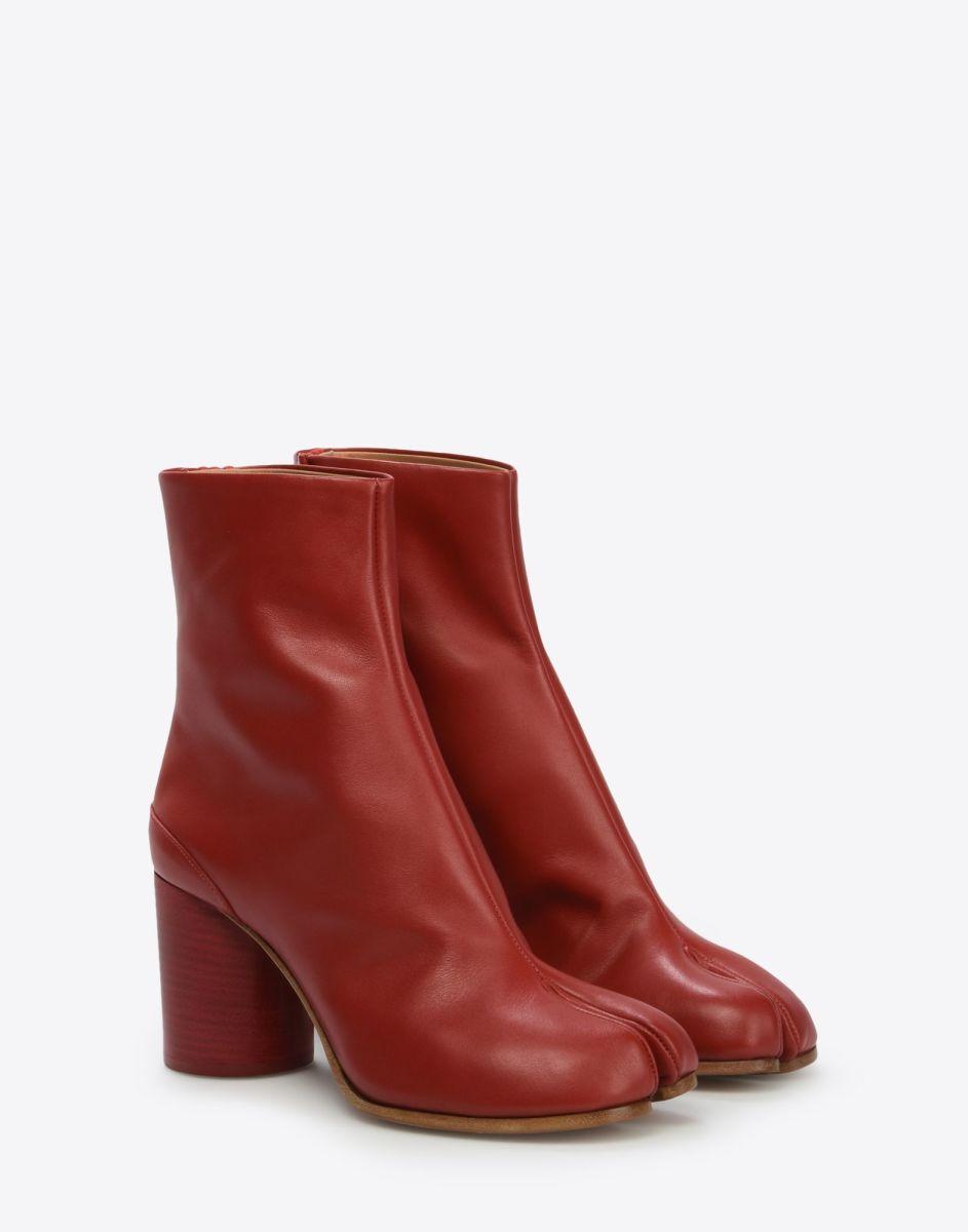 Calfskin Tabi boot, $980, available at Maison Margiela