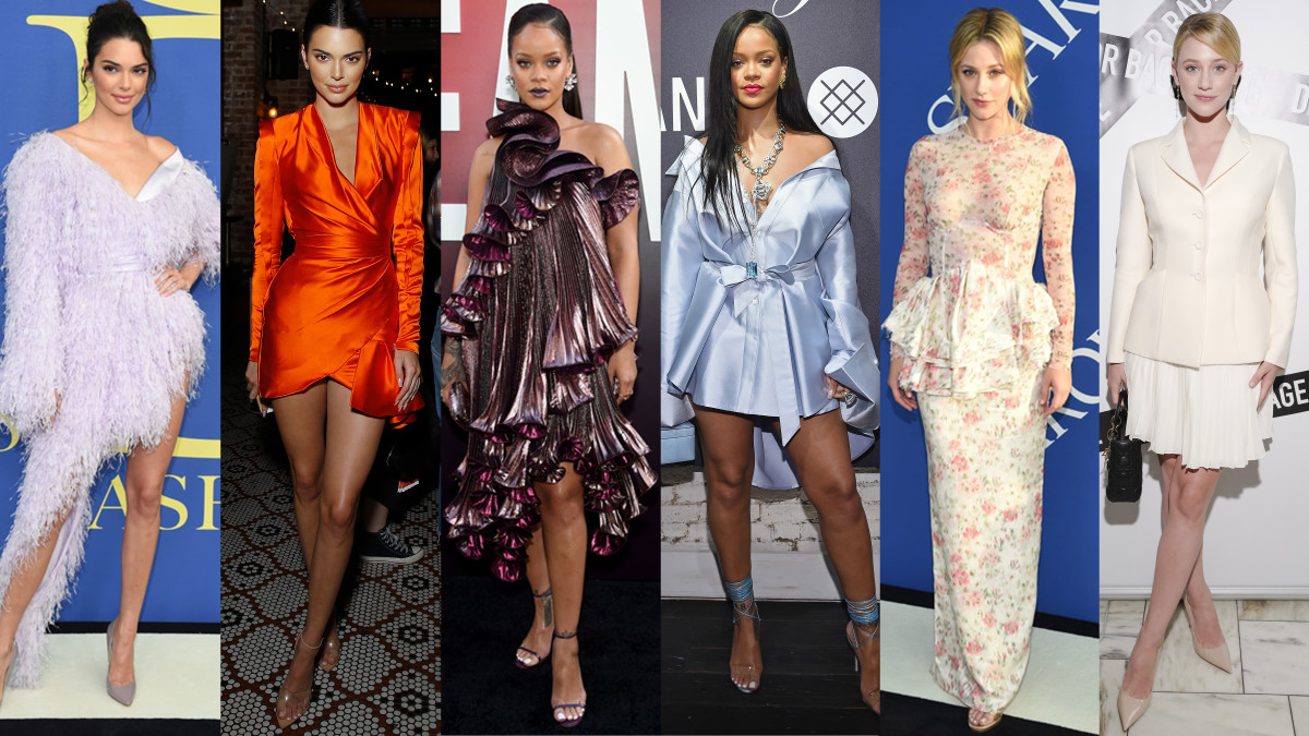 Kendall Jenner, Rihanna and Lili Reinhart on the red carpet this week. Photos: Getty Images