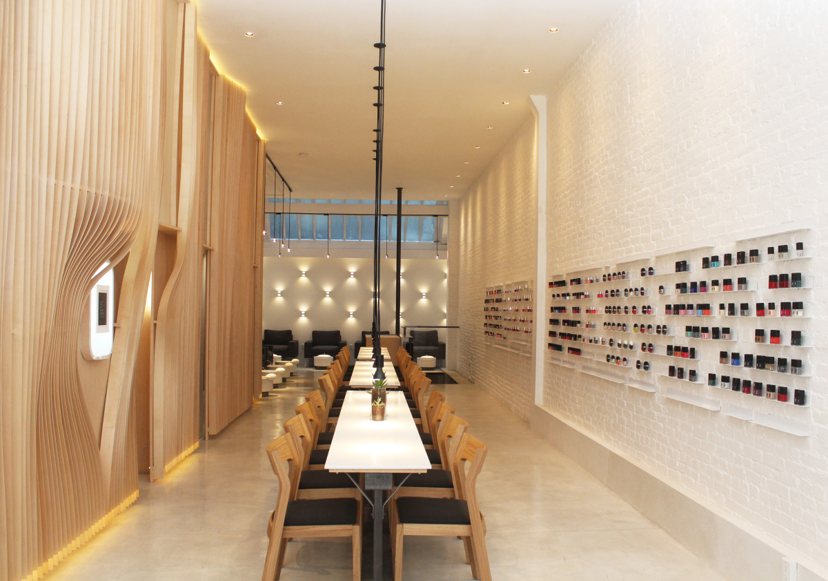 The Jin Soon Hand & Foot Spa in Tribeca. Photo: Courtesy of Jin Soon