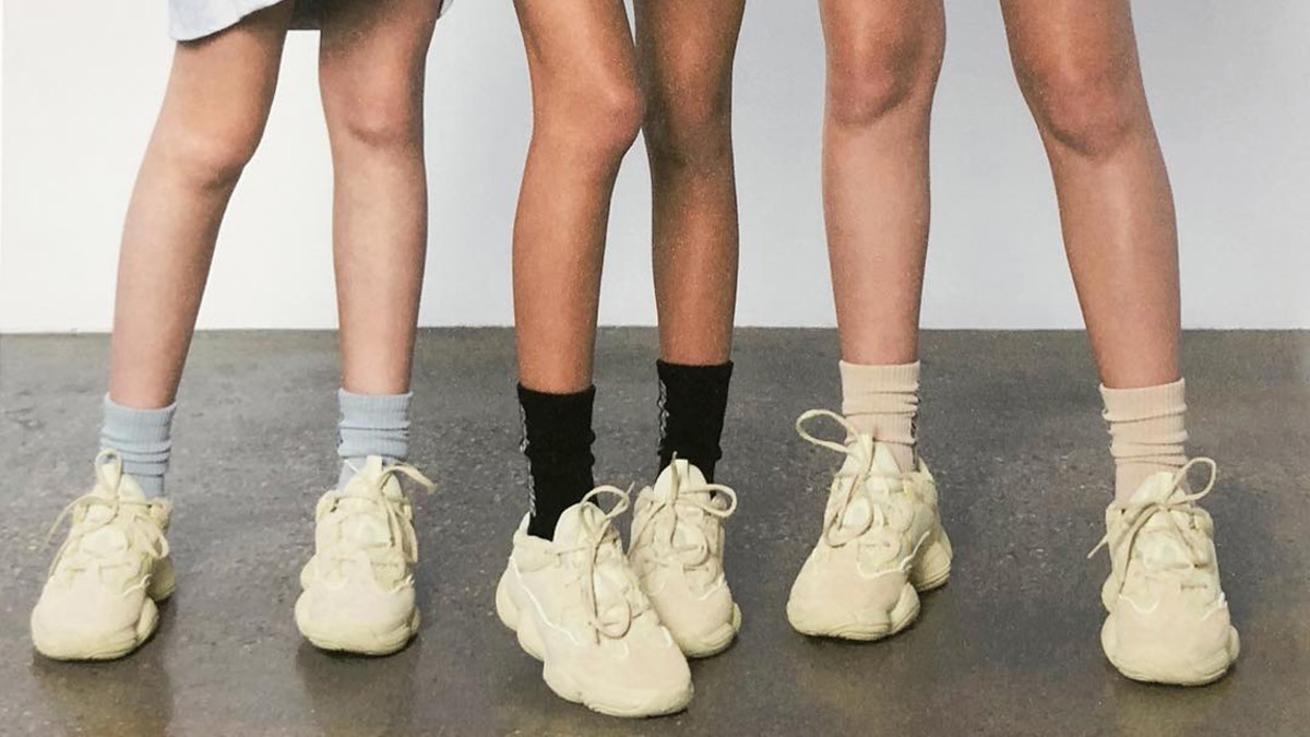 Kanye West Releases Yeezy 500 Supermoon Sneaker Campaign On Social