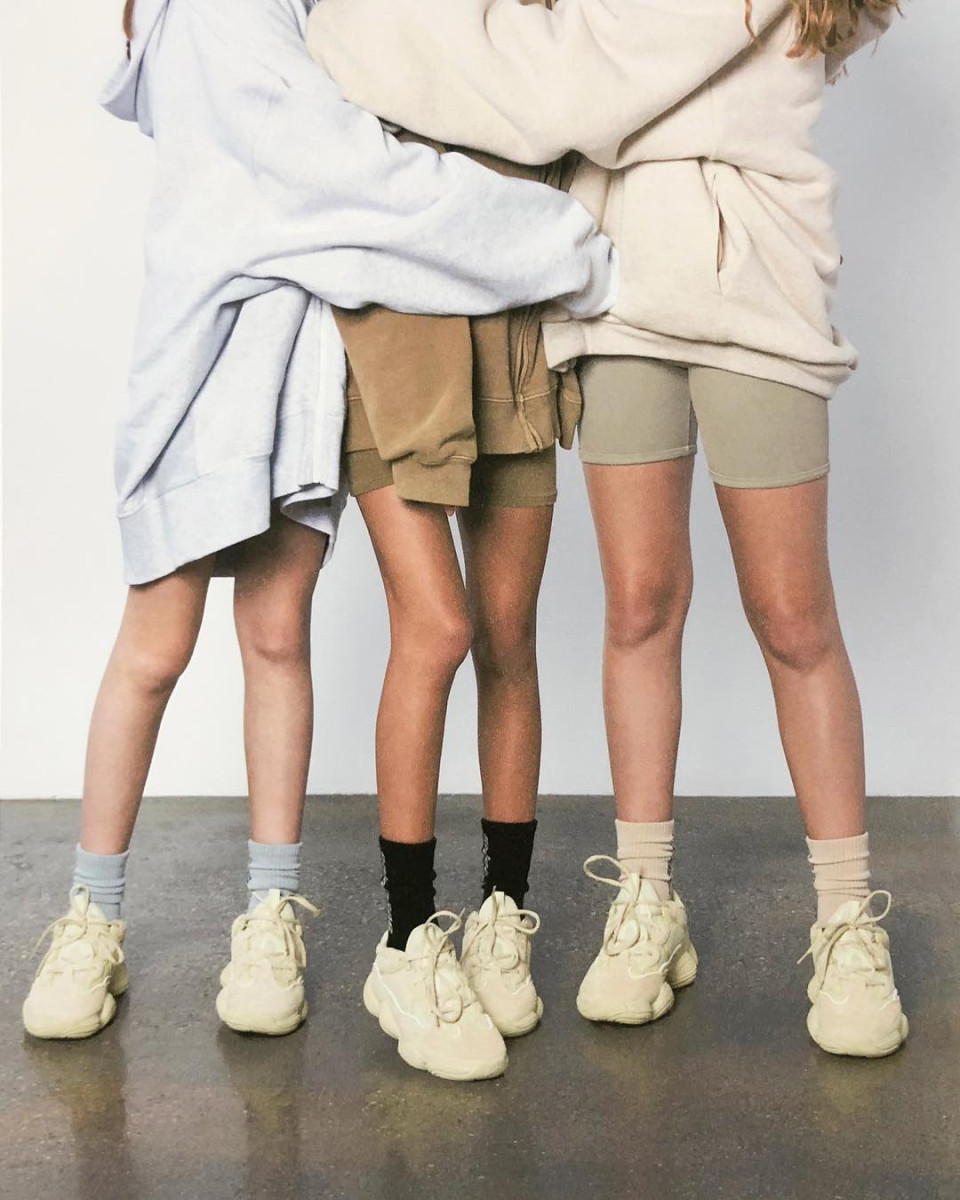 339edae583f Kanye West Releases Yeezy 500  Supermoon  Sneaker Campaign On Social ...