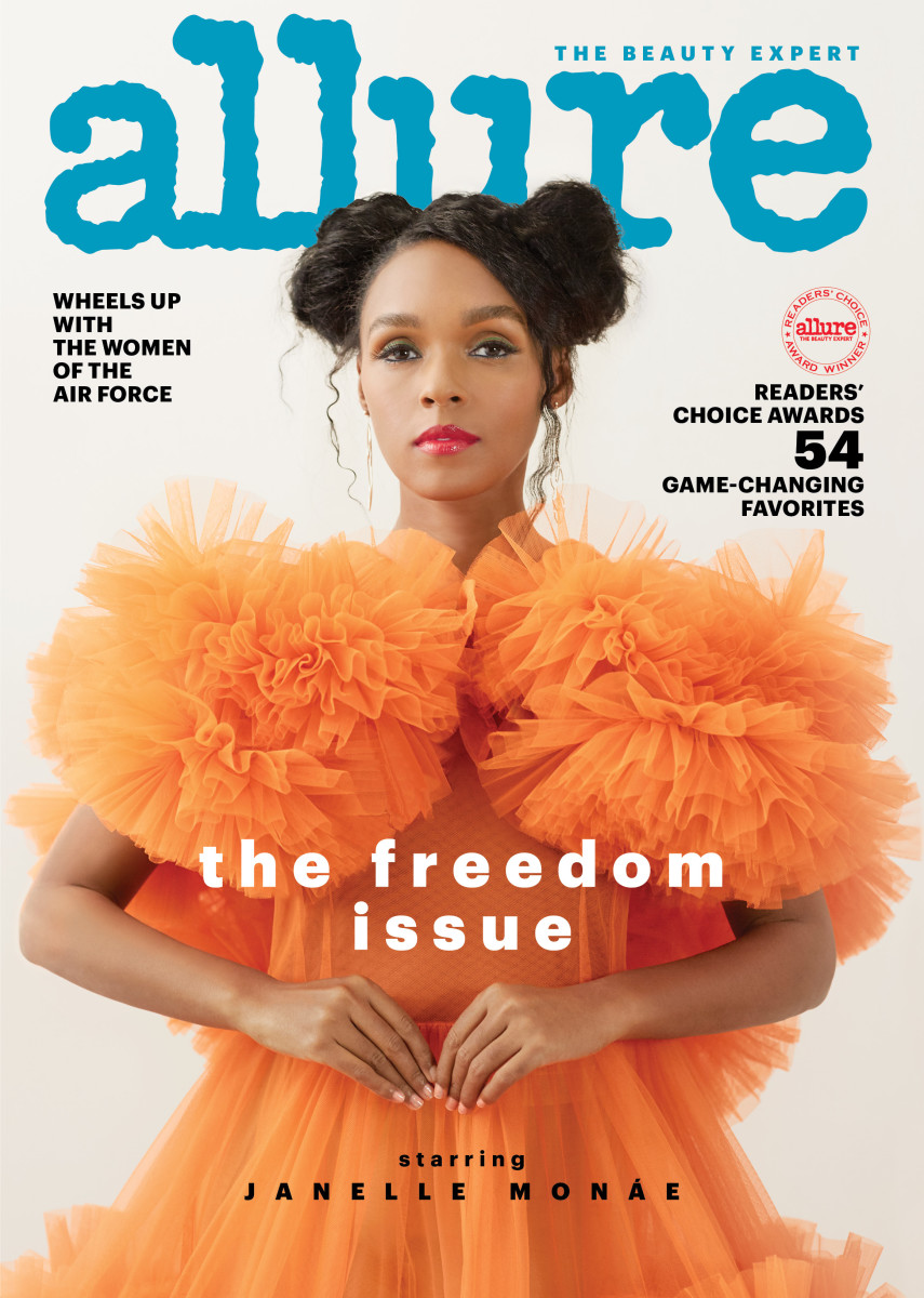 "Janelle Monae on the cover of ""Allure."" Photo: Camila Falquez for Allure"