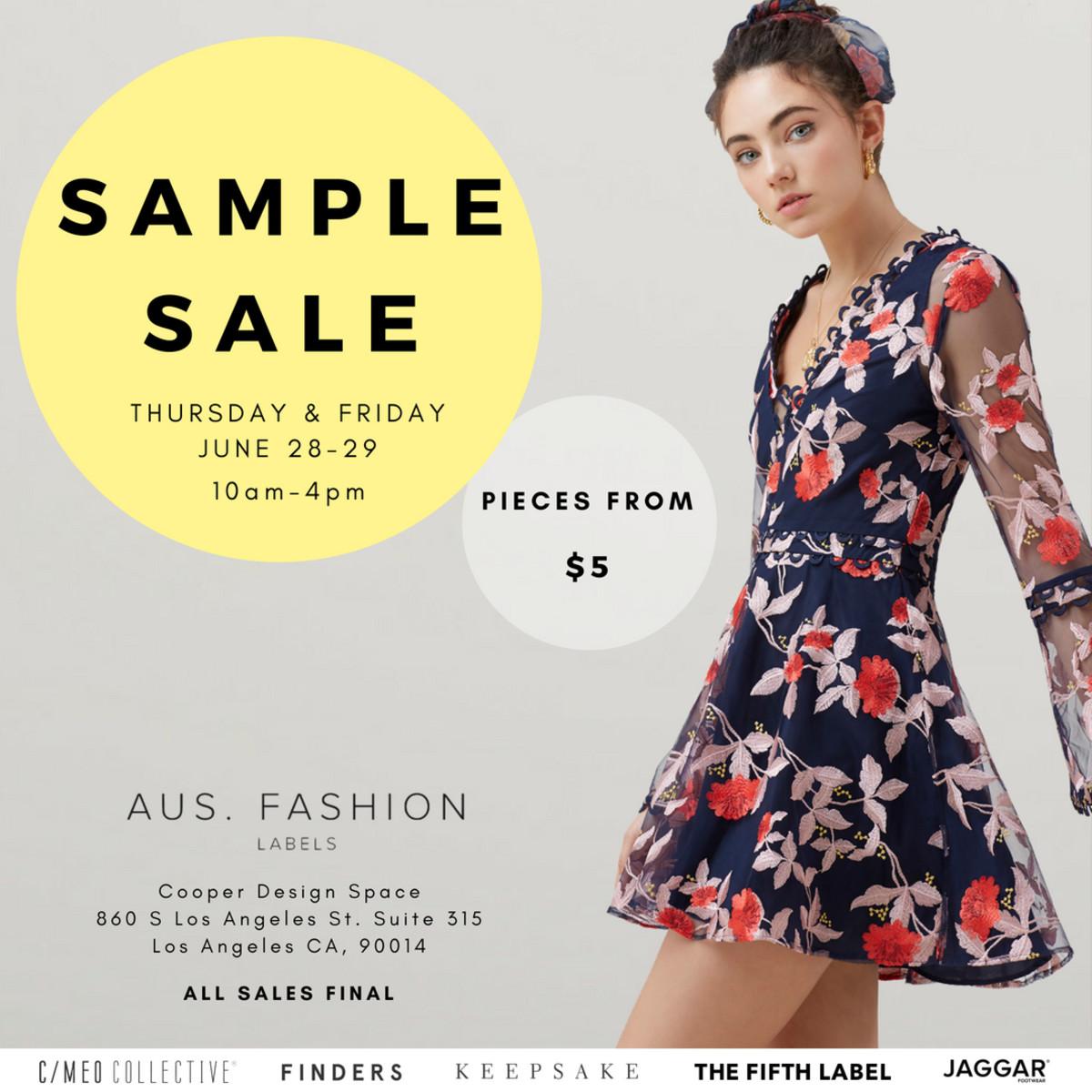 June Sample Sale Flyer-2