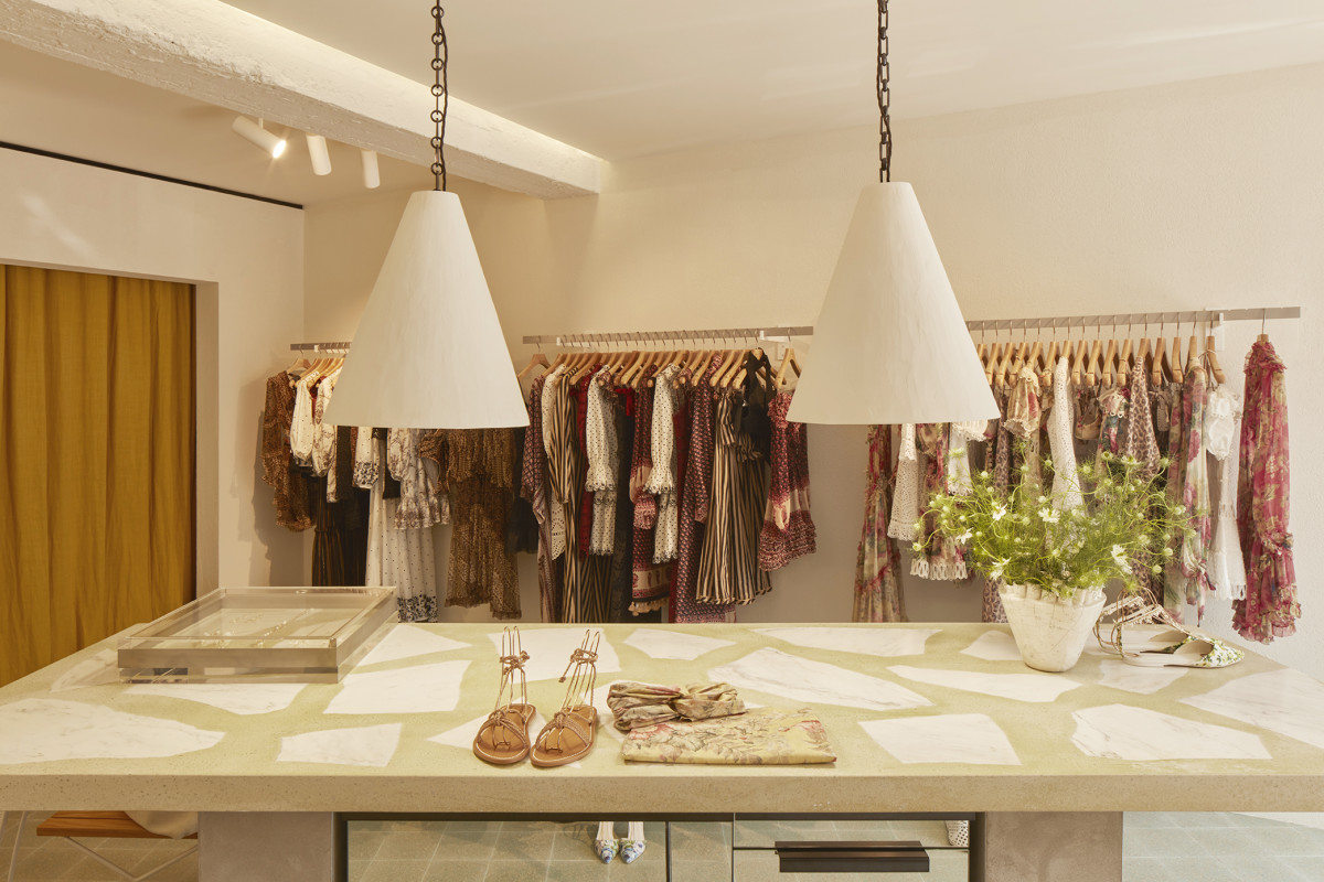 Inside the newly opened Zimmermann St. Tropez outpost. Photo: Courtesy