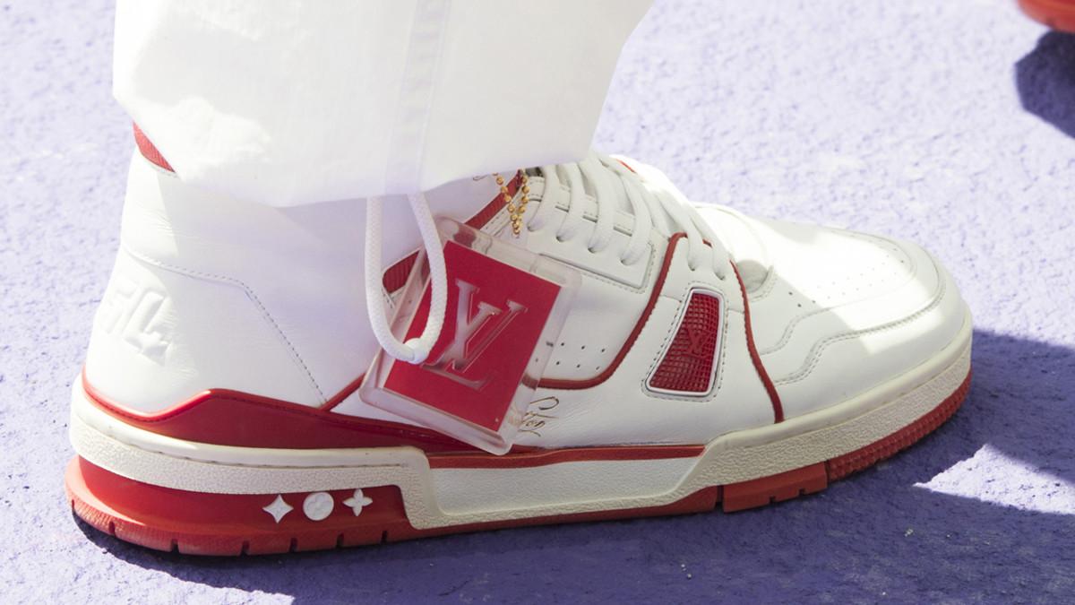 130346838ee Virgil Abloh Louis Vuitton Men s Spring Summer 2019 Sneakers Sunglasses  Bags Accessories - Fashionista