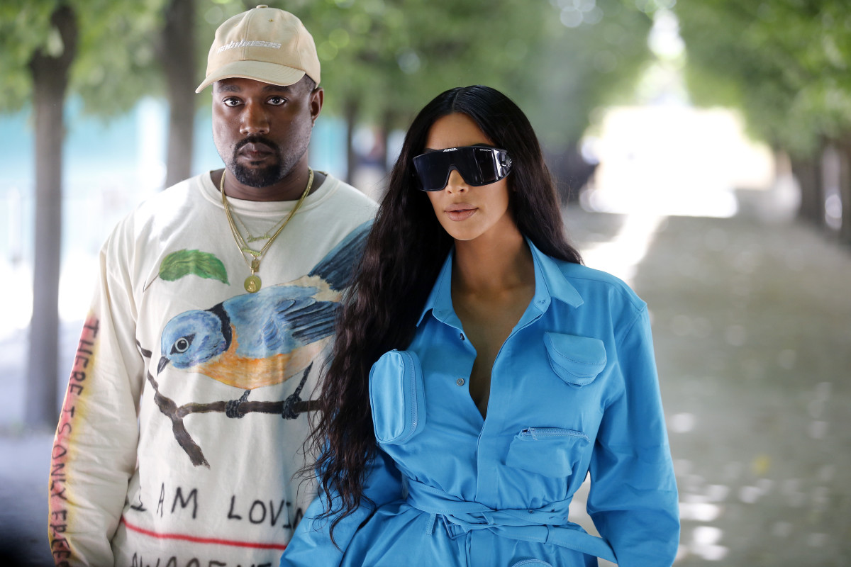 Kanye West and Kim Kardashian West. Photo: Chesnot/WireImage