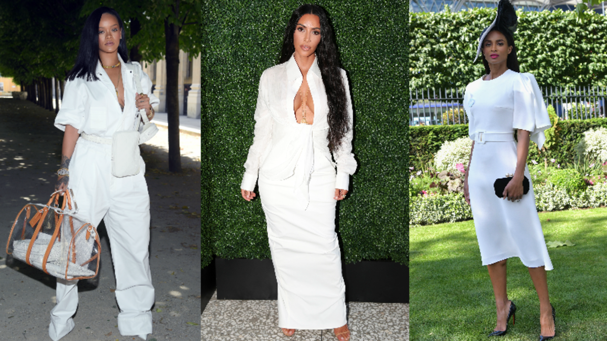 Rihanna, Kim Kardashian West and Ciara. Photos: Getty Images