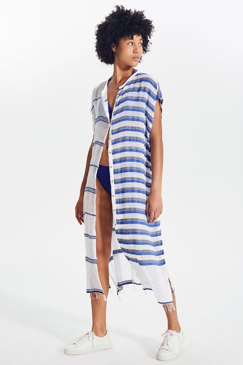 LemLem Lulu split Caftan Dress, $365, available here.
