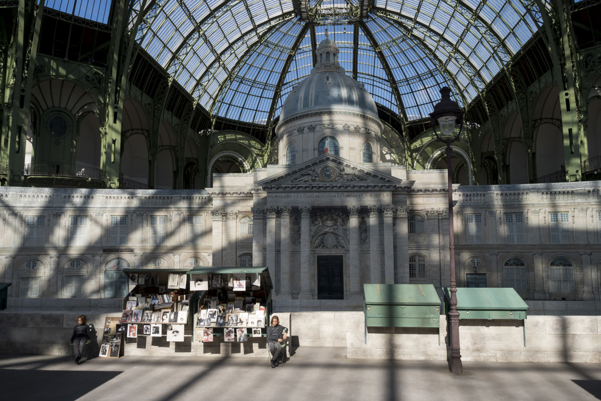 The set at Chanel Fall 2018 couture. Photo: Imaxtree
