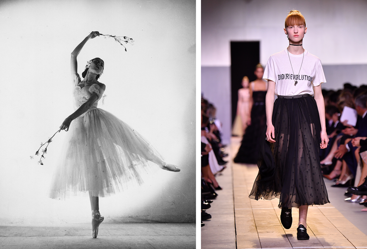 545f929251b0 Fashion History Lesson: The Subversive Power of Tulle - Fashionista
