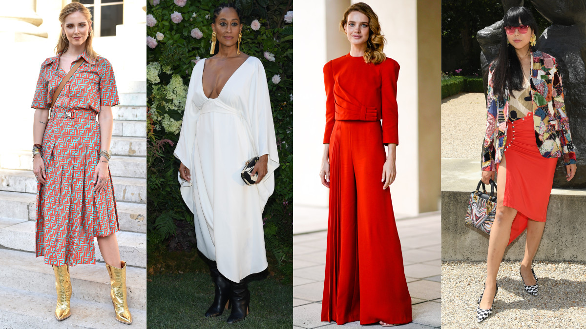 Chiara Ferragni, Tracee Ellis Ross, Natalia Vodianova and Susie Lau. Photos: Getty Images