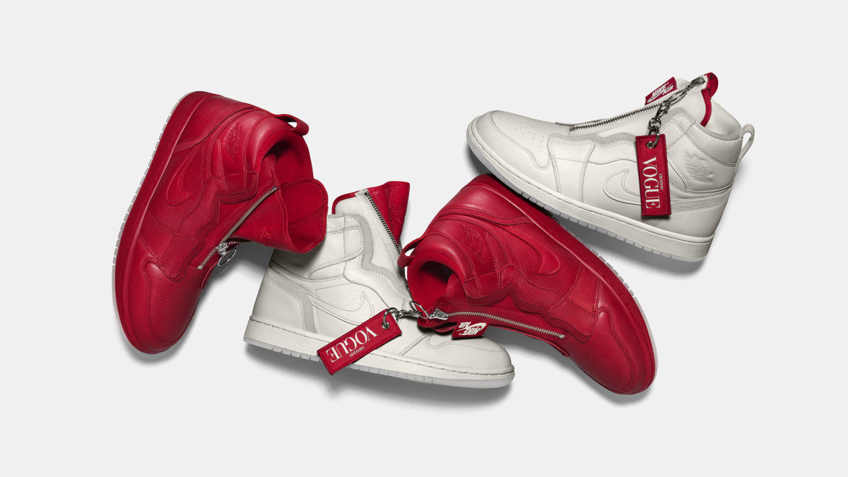 big sale 30489 1820b  Vogue  and Nike Collaborated on a Pair of Anna Wintour-Inspired Air Jordans  - Fashionista