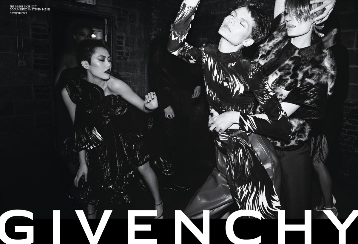 Givenchy Fall 2018. Photo: Steven Meisel