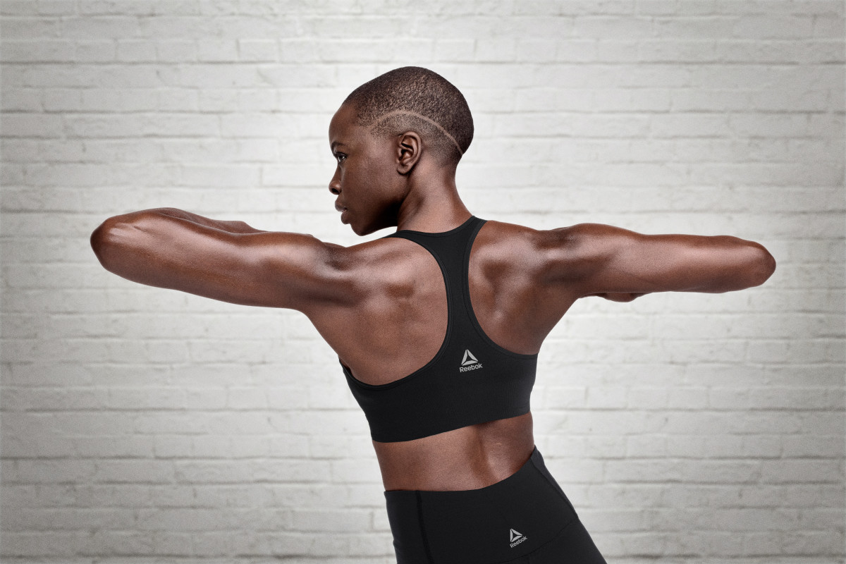 Danai Gurira. Photo: Reebok