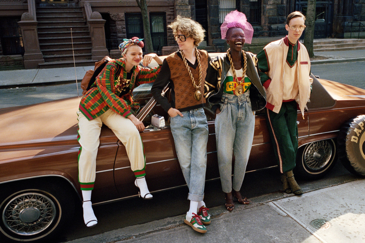 1c2b515502ca Gucci and Dapper Dan's First Collaboration Is Here - Fashionista