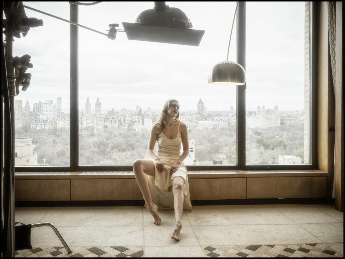 Gigi Hadid. Photo: Albert Watson/Pirelli Calendar