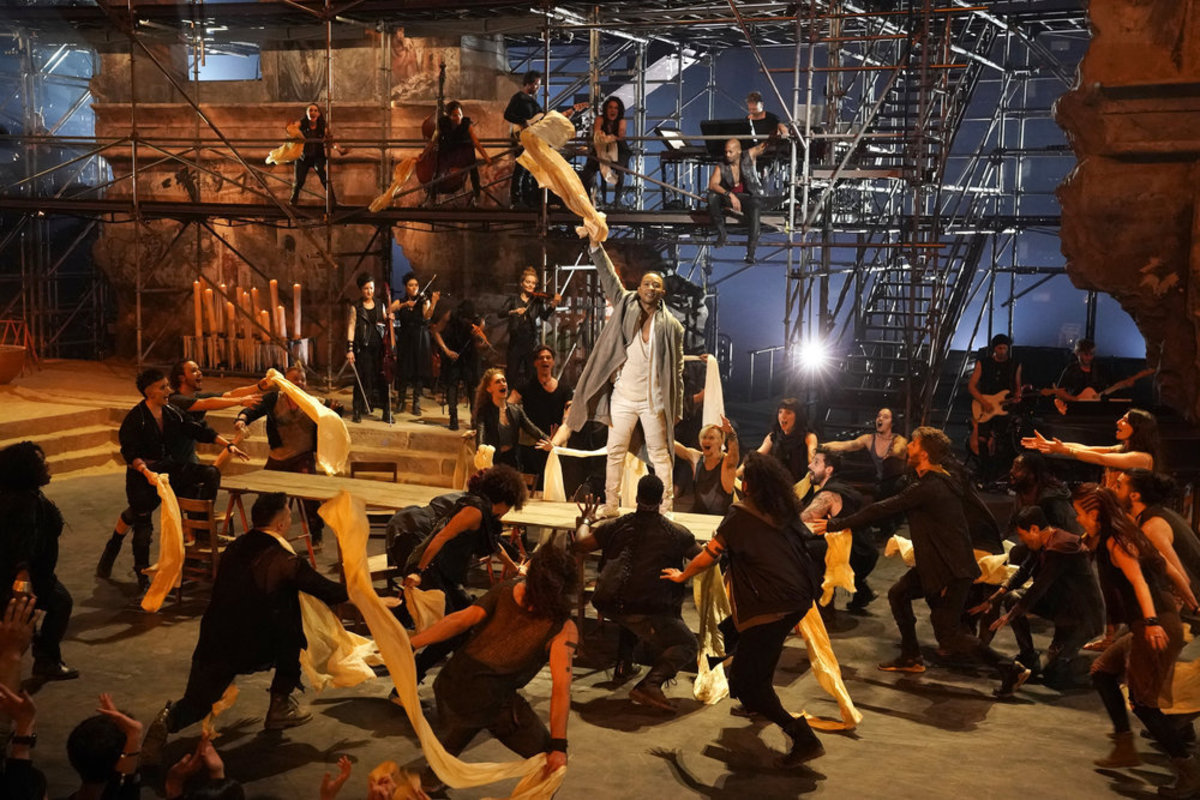 John Legend in 'Jesus Christ Superstar Live!' with Emmy-nominated costume design by Paul Tazewell. Photo: Eric Liebowitz/NBC