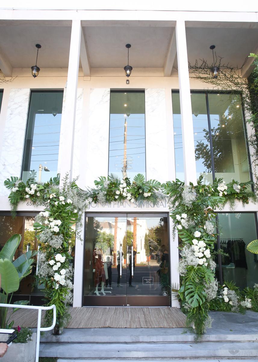 Jonathan Simkhai's store and headquarters. Photo: Courtesy