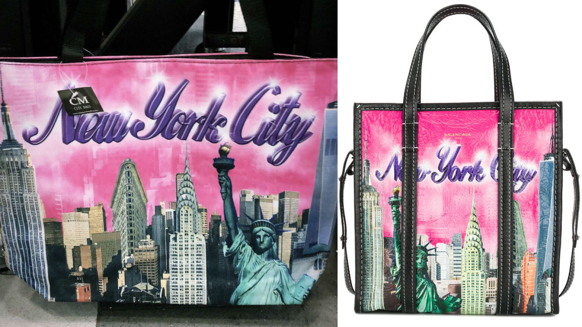 19bf460f2d1e A New York Souvenir Company Is Suing Balenciaga For Copyright Infringement   Updated  - Fashionista
