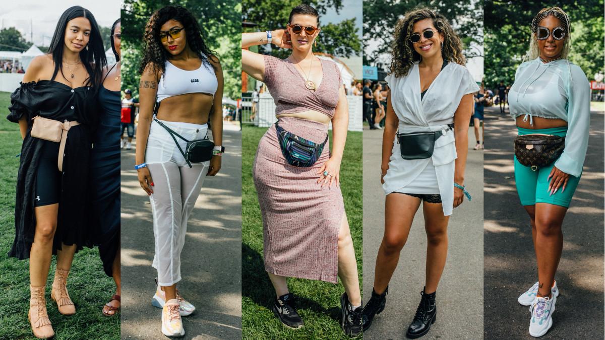 Fanny packs. Photos: Emily Malan/Fashionista