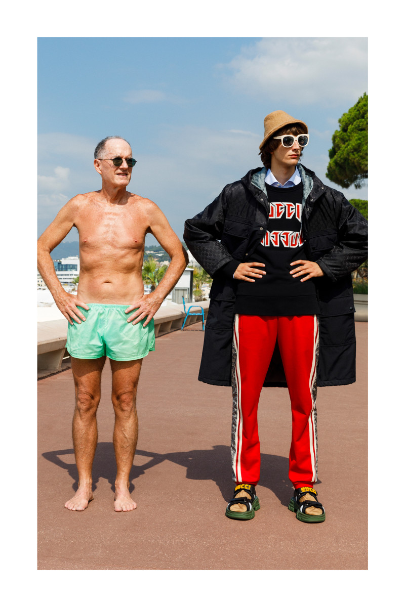 A look from the Gucci Cruise 2019 Men's Lookbook. Photo: Martin Parr/Gucci