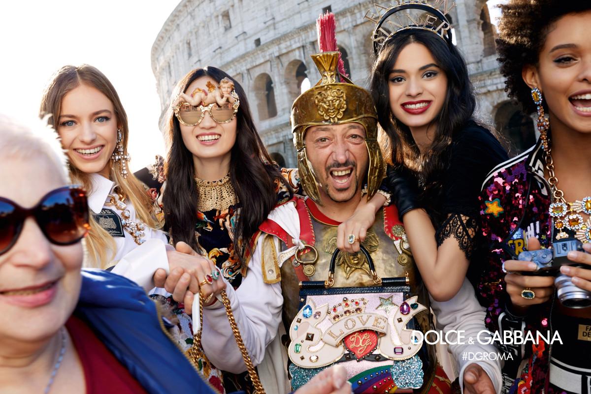 Dolce & Gabbana's Fall 2018 ad campaign. Photo: Morelli brothers/Dolce & Gabbana