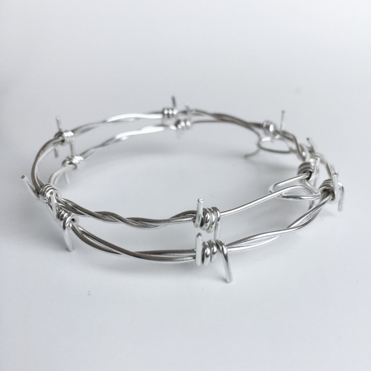 Large barbed wire hoops, $123, available here.