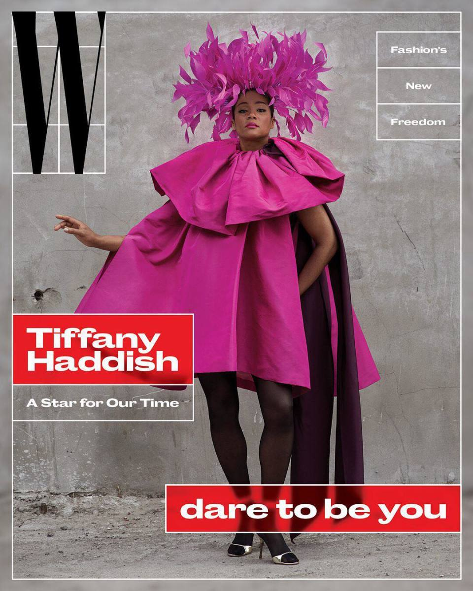 """Tiffany Haddish on """"W,"""" Vol. 3 2018. Photo: Ethan James Green/""""W"""""""