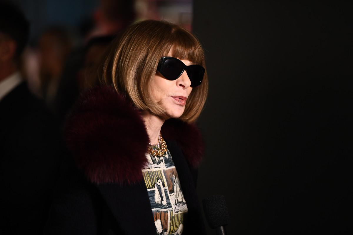 Anna Wintour. Photo: Ian Gavan/Getty Images for Burberry