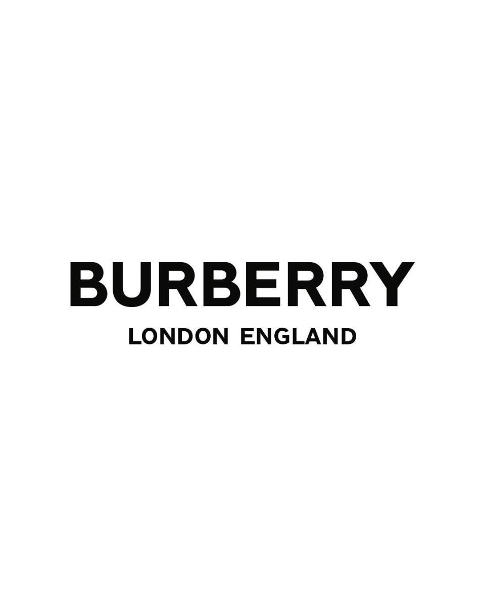 New Burberry logo, designed by Peter Saville. Photo: @burberry/Instagram