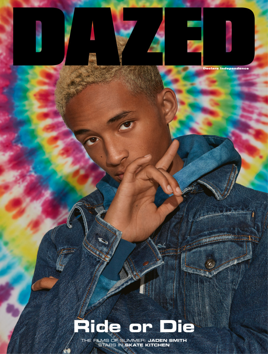 "Jaden Smith on the autumn cover of ""Dazed."" Photo: Roe Ethridge"