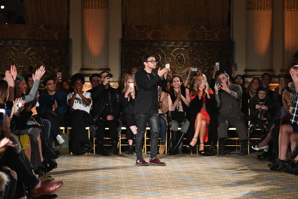 Christian Siriano at New York Fashion Week in February 2017. Photo: Slaven Vlasic/Getty Images for New York Fashion Week: The Shows