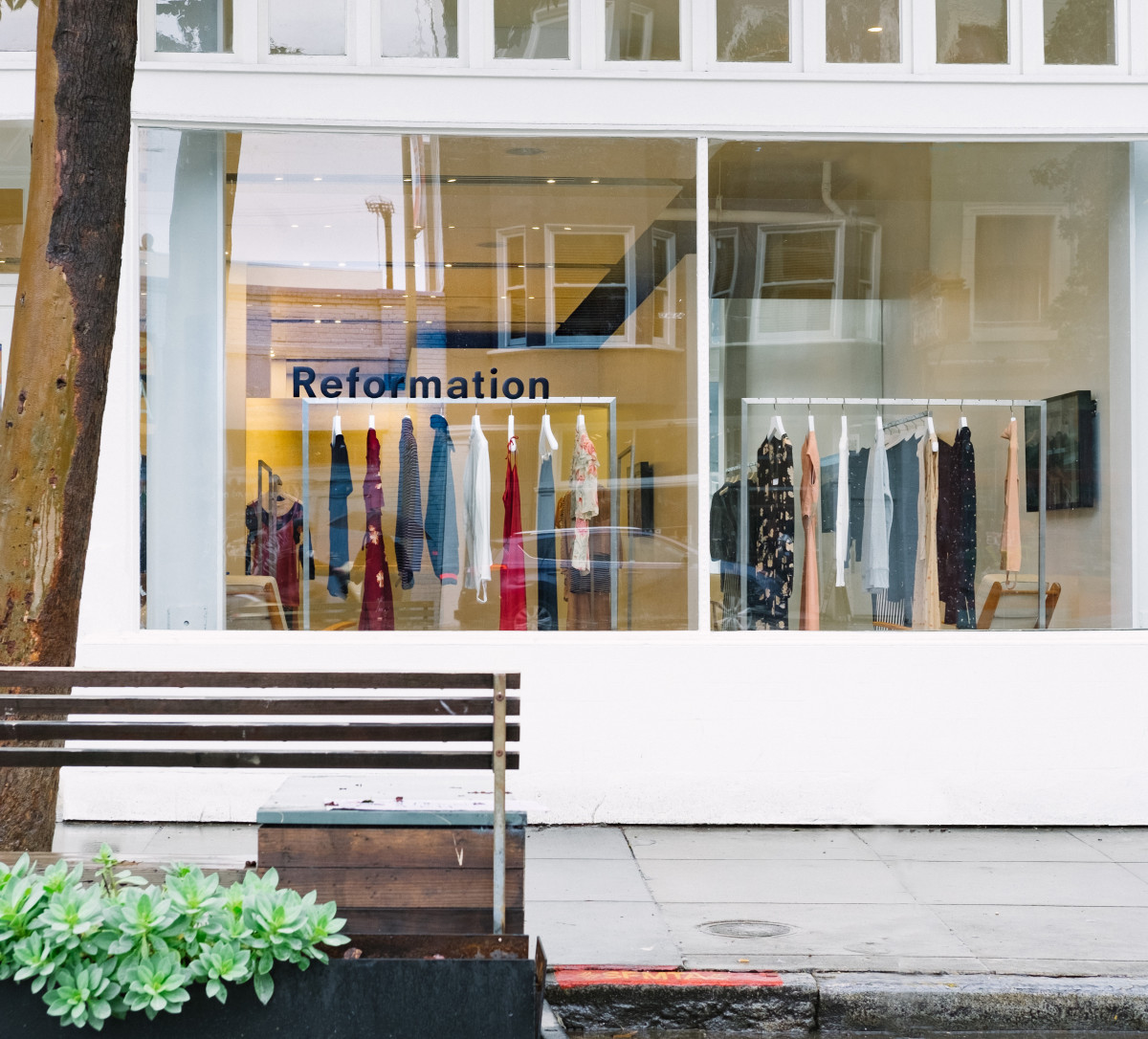 A Reformation store in San Francisco. Photo: Courtesy of Reformation